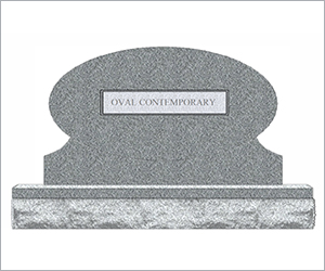 Oval Contemporary Image