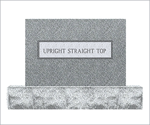 Upright Straight Top